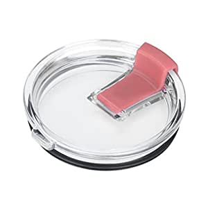 WILLTOO Spill And Splash Resistant Lid With Slider Closure For 30 Oz (Pink)
