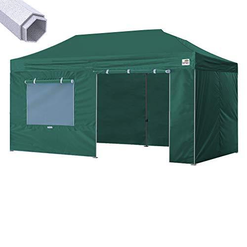 Eurmax New 10x20 Ft Premium Ez Pop up Instant Canopy Outdoor