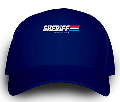 [Sheriff Real Amercian Heroes Great Gift For Any Sheriff Fan - Cap] (Sheriff Hats For Sale)