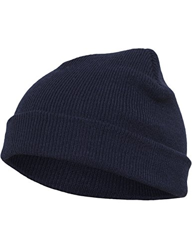 nbsp;Gorro Talla Spruce Punto Heavyweight Azul azul marino de Verde Talla nbsp;– Flexfit única HwWE8qOH