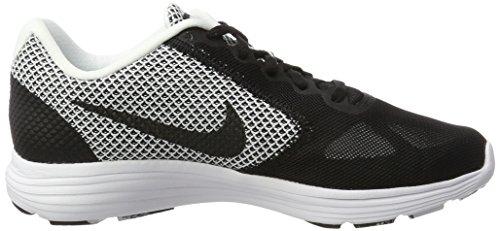 Nike Mens Revolution 3 Löparsko Vit / Svart