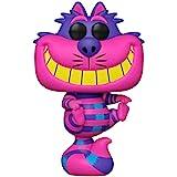 Funko Pop Alice en el país de las maravillas - Gato de Cheshire con luz negra exclusiva con un protector de pop Byron's Attic