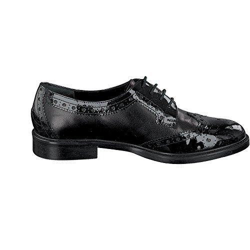 Mujer zapatos con negro Roberta Celli cordones aF0RAgx