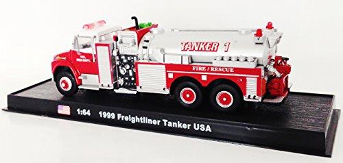 Freightliner Tanker USA Fire Truck Diecast 1:64 Model (Am...