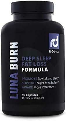 Luna Burn - PM Fat Burner, Sleep Aid, Boosts Metabolism, Weight Loss for Women and Men - Burn Fat While You Sleep