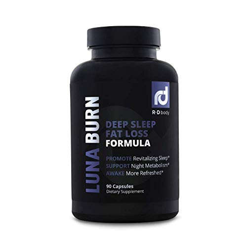 Luna Burn - PM Fat Burner, Sleep Aid, Boosts Metabolism, Weight Loss for Women and Men - Burn Fat While You Sleep ()