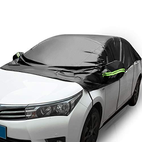 MATCC Autohoes Halve Garage Autohoes Auto Voorruit Bescherming Ijsbescherming Sneeuwbescherming Hittebescherming UV…