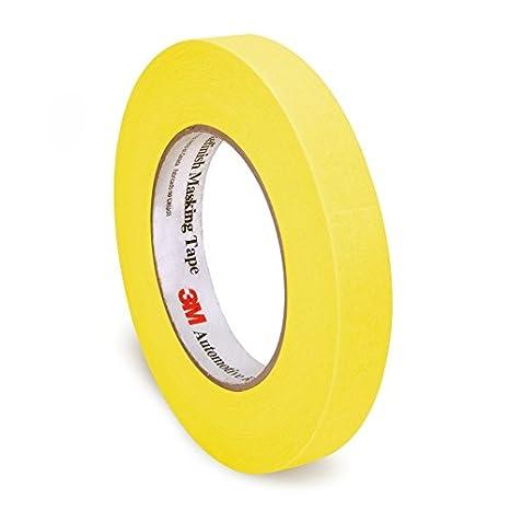3M White 24 mm x 55 m 06653 Automotive Refinish Masking Tape-24 mm