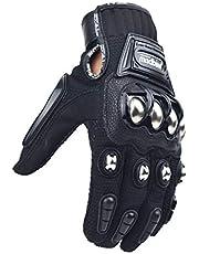 madbike Glove Motorcycle Racing Motorbike Gloves Alloy Steel Protection