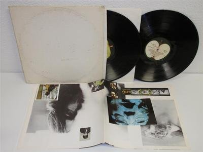 THE BEATLES White Album 2-LP Apple SWBO-101 stereo gatefold with POSTER