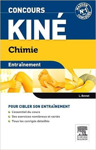 Lire Concours kiné Chimie Entraînement pdf ebook