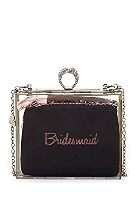 Blue by Betsey Johnson Bridesmaid Luctite 3in1 Clutch