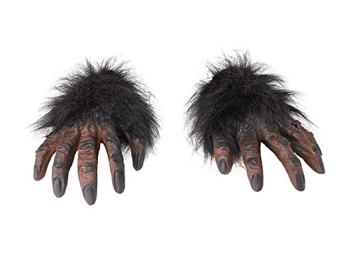Bristol Novelty MD162 Hairy Hands, Brown, One Size