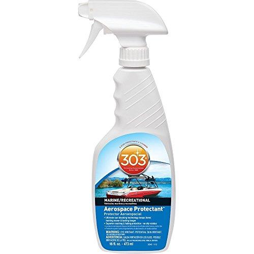 30340CSR Marine UV Protectant Spray for Vinyl, Plastic, Rubber, Fiberglass, Leather & More – Dust and Dirt Repellant - Non-Toxic, Matte Finish, 16 Fl. -
