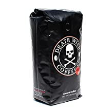 Death Wish Coffee, The World's Strongest Ground Coffee, Fair Trade and Organically Grown, 16 Ounce Bag