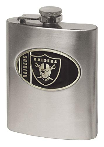 (NFL Oakland Raiders Hip Flask)