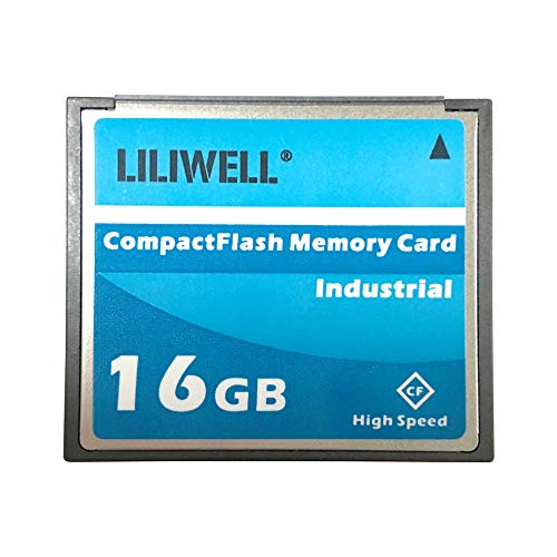 LILIWELL Original 16GB Compact Flash Memory Card Speed Up to 50MB/s Industrial CF 16 G