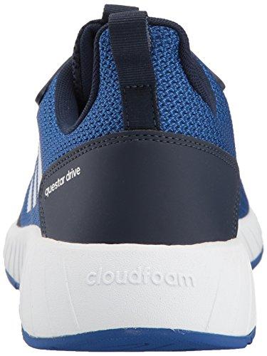 Adidas Neo Mens Questar Drive Scarpa Da Corsa Collegiata Navy / Bianca / Collegiata Reale