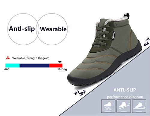 Lining Shoes Snow Grey Boots is Non Outdoor 4 Warm Waterproof slip Very Optional fur Classic Men Women Colors SXRwxARqO