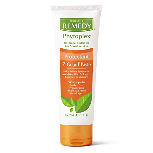 - Medline Remedy Phytoplex Z-Guard Skin Protectant Paste, 4 Oz., 12 Count