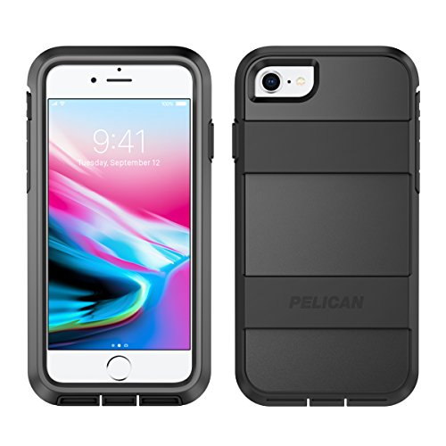 iPhone 8 Case | Pelican Voyager Case - fits iPhone 6s/7/8 (Black)