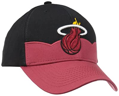 NBA ERROR:#N/A Two Tone Structured Adjustable Cut & Sew Hat from NBA Brand