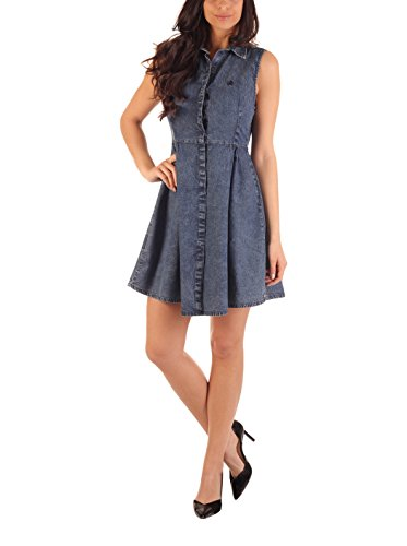 Kleid Lois blau Denim M Denim blau Lois M Kleid Lois Kleid pPxOqUZZ