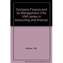 Company Finance and Its Management