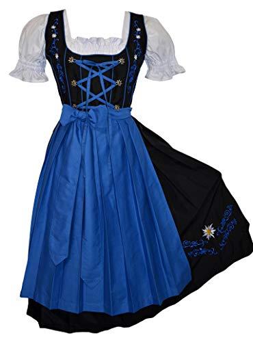 Plus Size Dirndl Dress - Edelweiss Creek 3-Piece Long German Oktoberfest