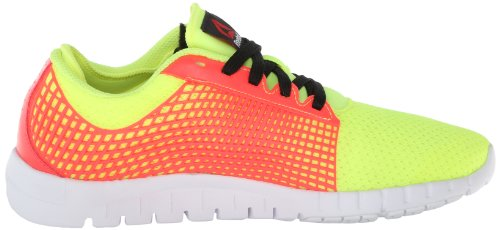 Reebok Zquick las zapatillas de running Neon Yellow/Punch Pink/Black/White