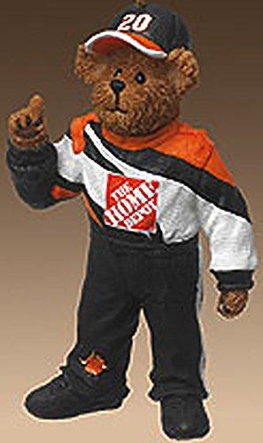 Boyds Bearstones NASCAR Resin Teddy Bear Ornament Tony Stewart #20 Home Depot