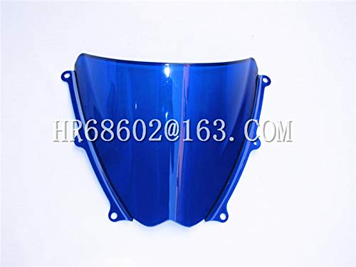 WALKER TRENT For Suzuki GSXR 1000 R K7 2007 2008 gsxr 1000 r k7 07 08 Blue Windshield WindScreen Double Bubble GSXR1000 R