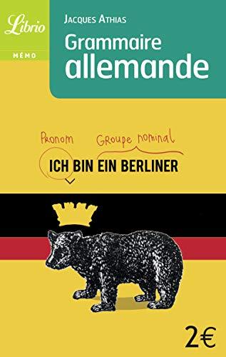 Grammaire allemande (Mémo) (French Edition) Jacques Athias
