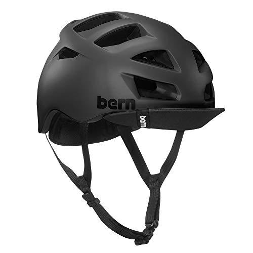 BERN - Allston Helmet, Matte Black w/Flip Visor, Large