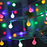 Coohole 10 LED Globe Fairy Lights, Battery Operated Globe String Lights Starry Lights for Home Party Birthday Garden Festival Wedding Indoor Outdoor Use (Multicolor)