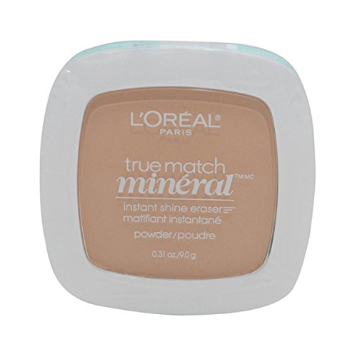 3 Pack- L'Oreal True Match Mineral Instant Shine Eraser Powder #N4-5/410 Buff Beige