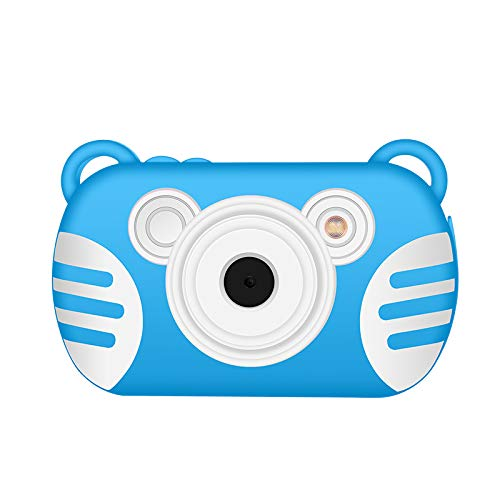 CamKing Kids Digital Camera, K3 2.7'' Screen Children's Cartoon Digital Camera, Blue by CamKing (Image #1)