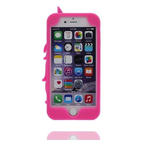 """iPhone 6 (4.7"""") Coque, [ de matériau TPU souple élégant durable Licorne ] iPhone 6s étui (4.7 pouces), poussière glissement résistant aux rayures, iPhone 6 (4.7"""") Case et ring Support de téléphone"""