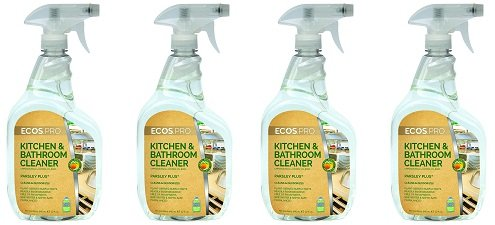 ECOS PRO PL9746/6 All-Purpose Kitchen-Bathroom Cleaner, Parsley Plus (Pack of 6) (4-(Pack of 6)) by ECOS PRO