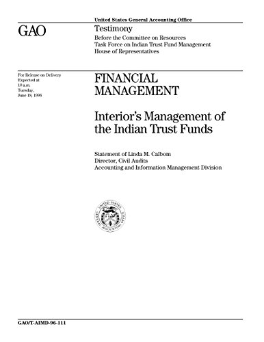 Financial Management: Interior's Management of the Indian Trust Funds