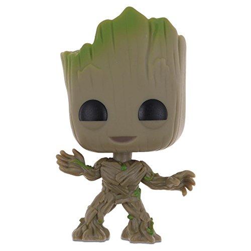 Popular Guardians of the Galaxy Vol.2 Vinyl Qute Figure Figurine Gift(Groot #3)