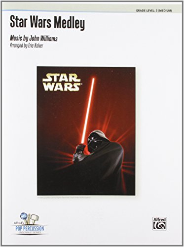 Star Wars Medley: For 9 Players, Conductor Score & Parts (Alfred's Pop Percussion Ensemble Series)