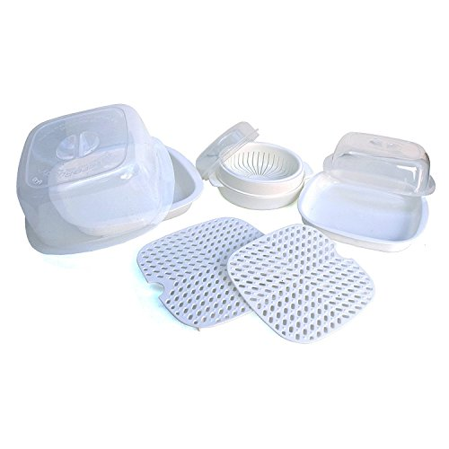 Microwave Cooking Set - 9 Piece Microwave Cookware Set by Mi