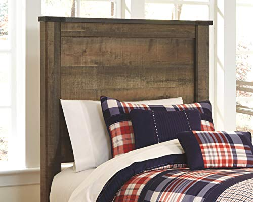 - Signature Design by Ashley B446-53 Trinell Headboards, Brown