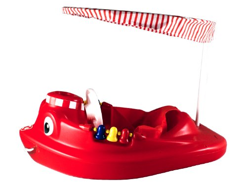 SwimWays Baby Tug Boat with UV Spring Canopy