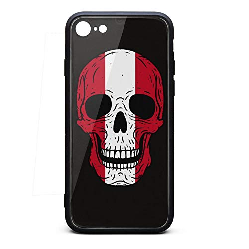 Scratch-Resistant iPhone 6/6s Plus Covers Cell Skull Peru Flag iPhone 6s Plus case Cover Slim iPhone 6 Plus - Civil Flag Peru