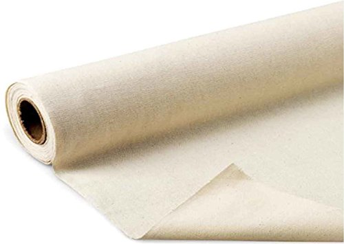 Mybecca 5 Yards 10oz Canvas Fabric (Natural), 36-Inch Wide by Mybecca