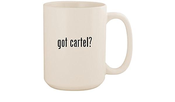 Amazon.com: got cartel? - White 15oz Ceramic Coffee Mug Cup ...