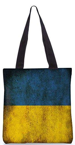 """Snoogg Schmutzige Flagge Versionzero Tragetasche 13,5 X 15 In """"Shopping-Dienstprogramm Tragetasche Aus Polyester Canvas"""