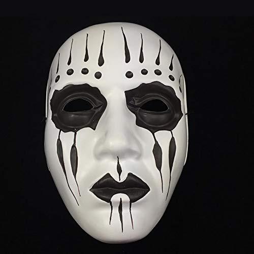 ハロウィン Cosplay 仮面 Slipknot Joey テーママスク お面 恐怖 かっこいい コスプレ小道具 パーティー 仮面舞踏会 演出 舞台用